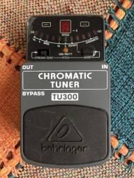 Título do anúncio: Pedal Afinador Chromatic Tuner TU300 behringer