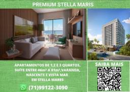 Título do anúncio: Premium Stella Mares, 1 quarto, suíte, varanda em 46m² com 1 vaga na garagem