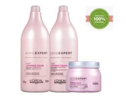 Kit L'Oréal Vitamino Color A-OX Shampoo 1,5l + Condicionador 1,5l + Máscara 500g