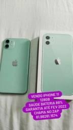 Título do anúncio: iPhone 11 128 gigas na garantia até fevereiro