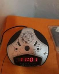 Título do anúncio: Rádio e relógio am e fm original