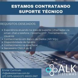 Título do anúncio: Técnico suporte TI