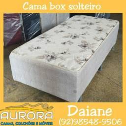 Título do anúncio: cama box solteiro espuma entrega grátis #$@