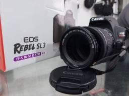 Título do anúncio: Camera Canon Sl3 novíssima