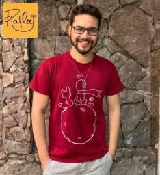 Camisa Pequeno Príncipe - pintada à mão -PROMOÇÃO