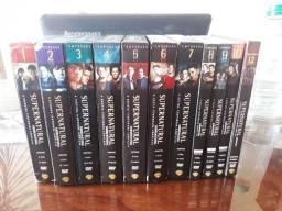 Título do anúncio: Supernatural DVD original. 1º,2º,3º4º,5º,6º7º,8º,9º,10º e 12º temporada