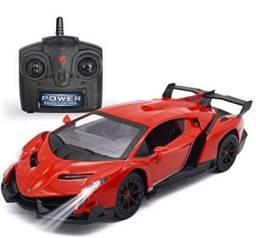 Promoção Carrinho de Controle Remoto Total Tamanho Grande - Modelo Ferrari