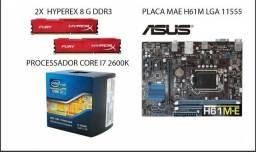Kit 3° Geração ( Processador + Memoria + Placa Mae)