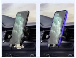 suporte veicular celular saída de ar carro automotivo gps pro universal