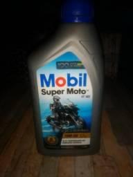 Caixa de Óleo Mobil Super Moto