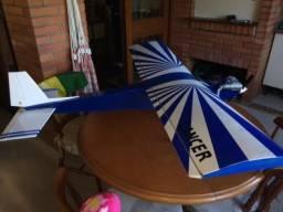 Aeromodelo Lancer motor .46 treinador
