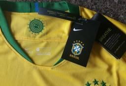 Camisa Seleção Brasileira Amarelinha