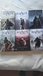 Coleção 6 livros Assassin's Creed
