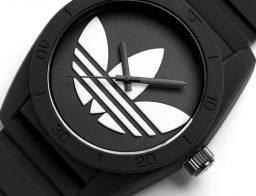 Relógio Adidas Preto e Branco a Prova D'água