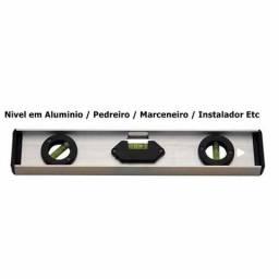 Nivel de bolha em aluminio novo 10,00 reais em osasco 3 tipos de medições