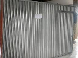 Portão 3x2.20 aço galvanizado