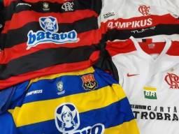 Kit Mengão (4 Camisetas De Futebol)