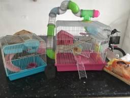 02 Gaiolas de Hamster pelo preço de uma!!!