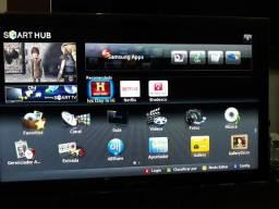 Televisão 32 LED Samsung Com Acesso à internet via cabo