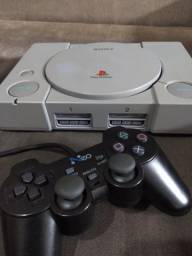 Playstation 1 FAT (Completo e funcionando)
