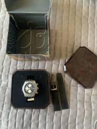 Relogio breitling ORIGINAL completo com duas pulseiras