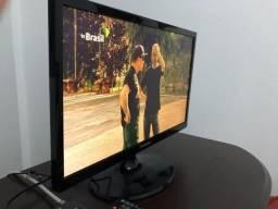 TV e Monitor LED Samsung 22 Polegadas T22C310LB Função Futebol Hdmi Usb