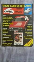 Quatro Rodas Agosto 1988