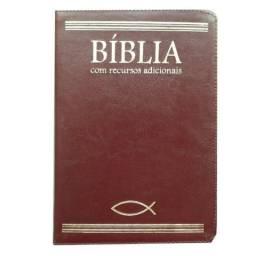Bíblia Com Recursos Adicionais bra - Marrom /bvbooks