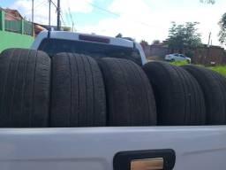 Vendo 5 pneus 265/60/r18 meia vida