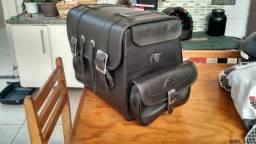 Vendo mala de garupa para moto custom R$ 200,00