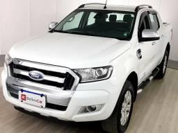 Ford Ranger Limited 3.2 20V 4x4 CD Aut. Dies. - Branco - 2018 - 2018