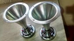 Cornetas+cones de alumínio, tudo ok não abaixo mais preço