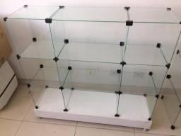 Balcão vitrine , expositor de produtos para loja