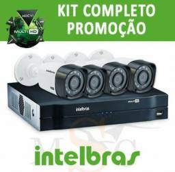 Kit com 4 câmeras 1.250,00 a vista