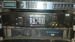 Amplificador studioR RA2400
