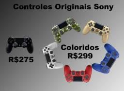 Controle Original Sony - Diversas cores