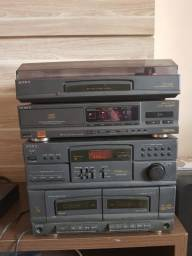 Sony LBT45W + CD Player CDPM39BR