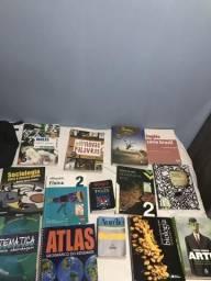 Livros ensino médio Colegio Sesi (e outros)