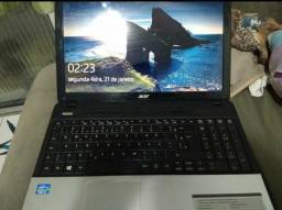 Notebook acer processador i5 troco por som automotivo