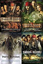 Coletânea Piratas Do Caribe (5 Filmes)