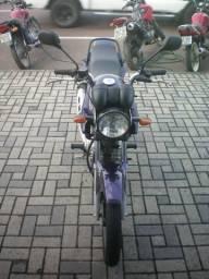 Yamaha factor 125 ed com partida eletrica freio adisco rodas esportivas - 2010