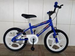 Bicicleta aro 16 nova liga da justiça