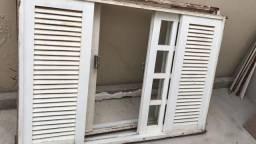 Vendo janelas de madeira