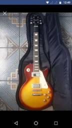 Guitarra Shelter Nashville modelo Les Paul + Bag