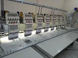 Máquina de bordar 8 cabeças SWF