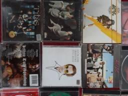 CD, s de rock nacional e internacional.