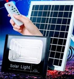 Refletor Solar 50W Kit Completo - Totalmente Solar