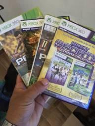 Vendo Xbox 360 com kinect e controle