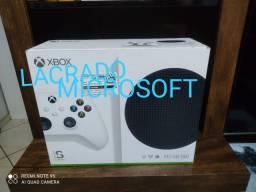 Xbox séries s novo lacrado