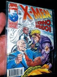 X-Men número 90 editora abril